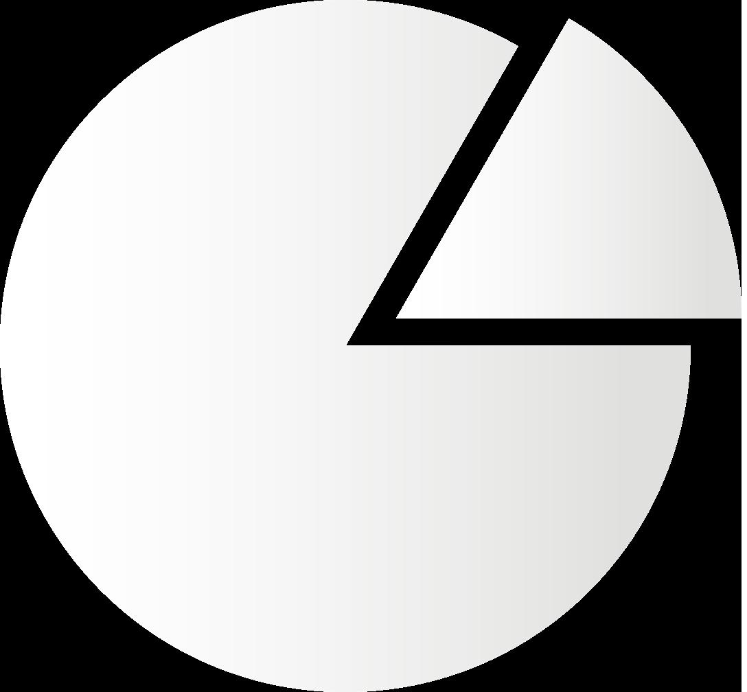 paper pie chart icon