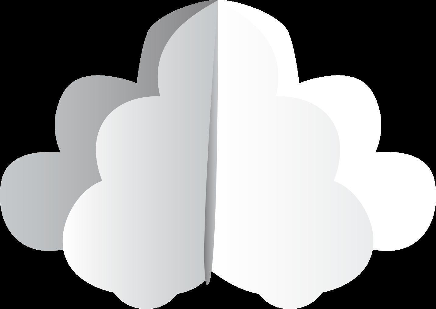 paper cloud icon