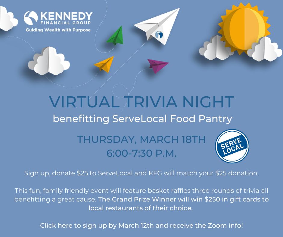 Virtual Trivia Night Flyer